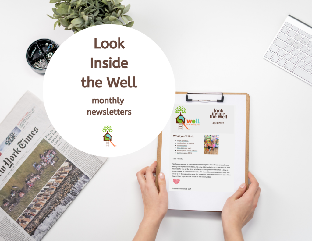 Look Inside the Well Monthly Newsletters