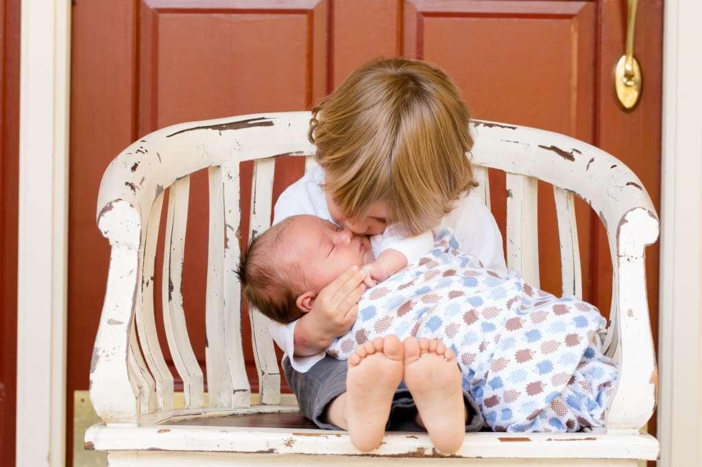 Preschooler with New Sibling