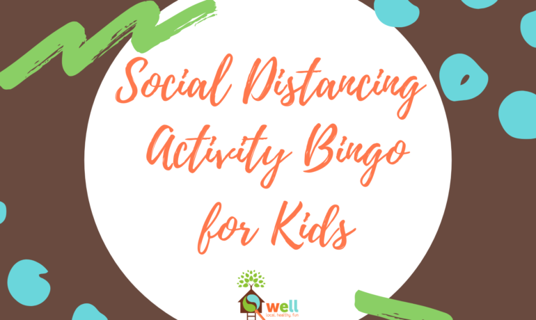 At-Home Family Activity Bingo