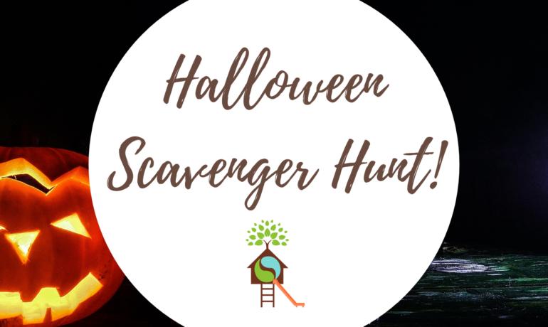 Halloween Scavenger Hunt!
