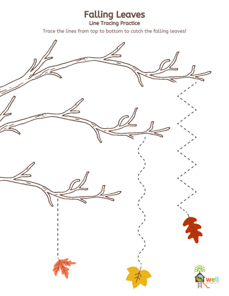 Falling Leaves Tracing