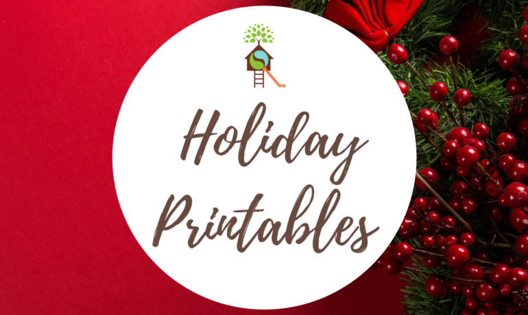 Holiday Printables: Letter Template for Kids & Mittens Worksheet