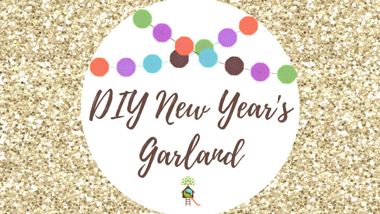 DIY New Year's Garland