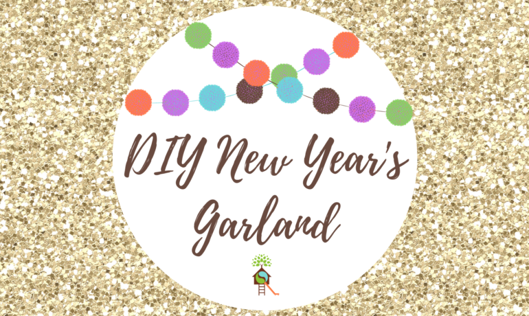 DIY New Year's Garland