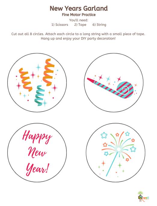 DIY New Years Banner 2