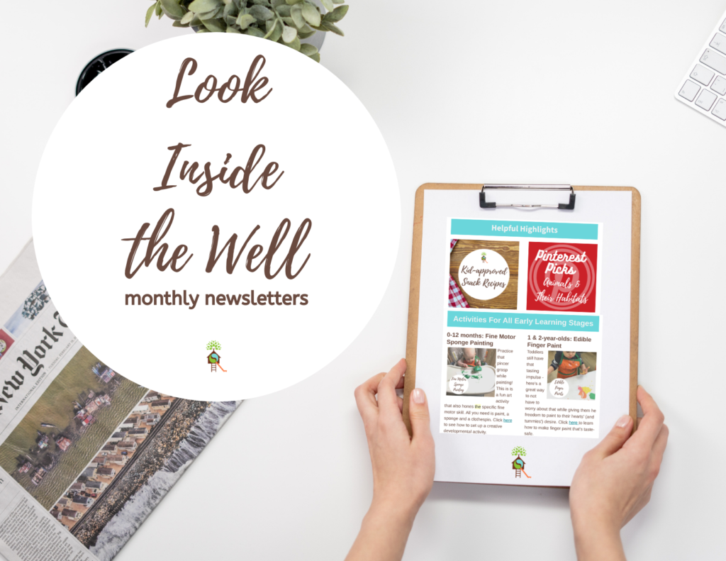 Look Inside the Well Newsletters Image