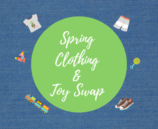 Spring Clothing & Toy Swap