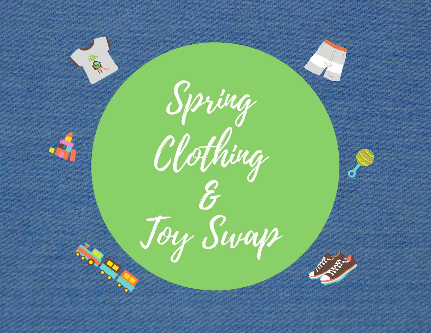 Spring Clothing Toy Swap Blog Image
