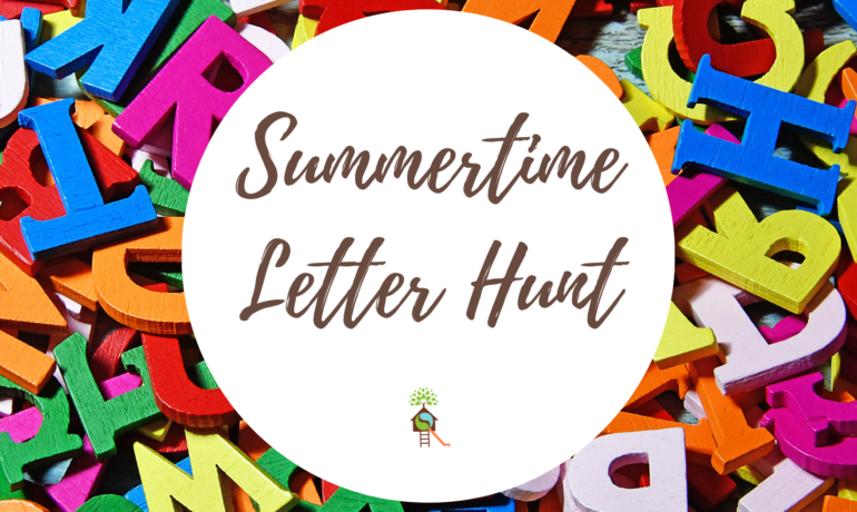Summertime Letter Hunt