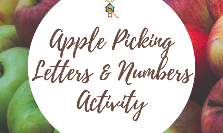Apple Picking Letters & Numbers Identification